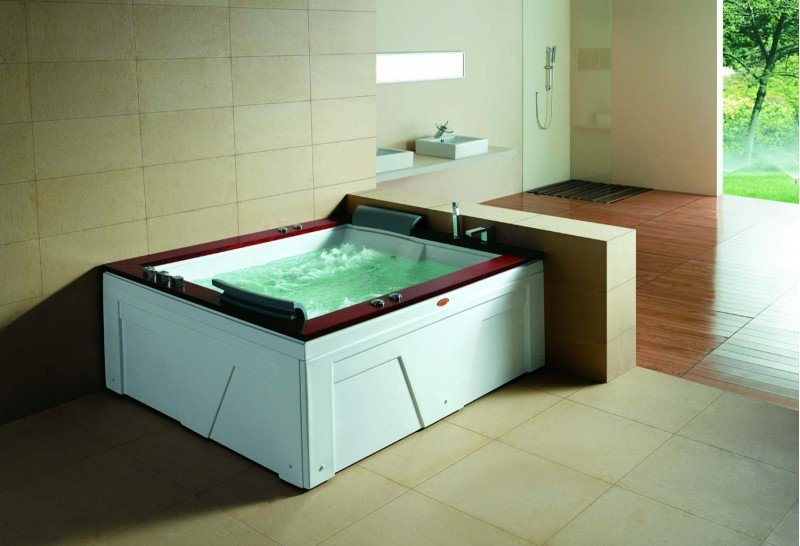 Ba era hidromasaje jacuzzi at 004 c sped artificial en for Baneras jacuzzi precios