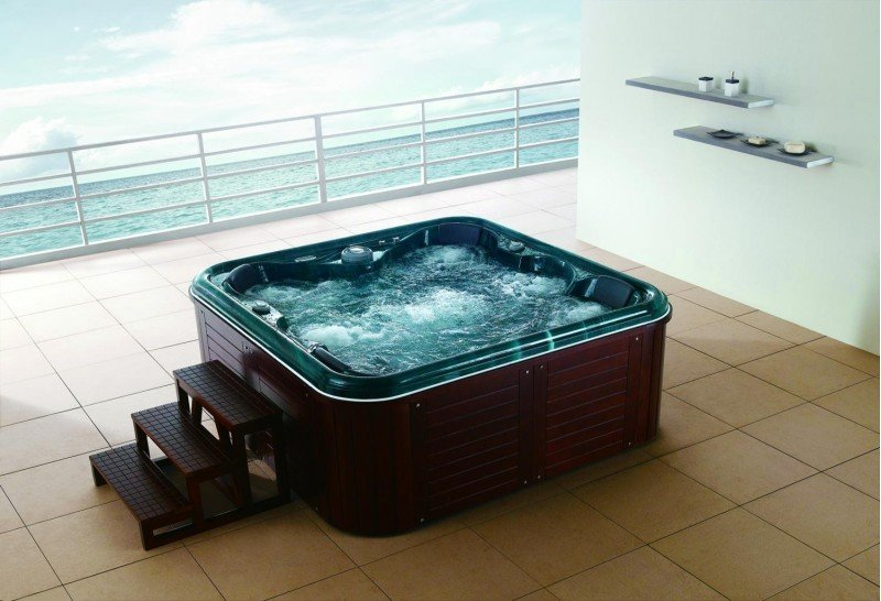 Spa jacuzzi exterior as 001 c sped artificial en navarra for Jacuzzi para exterior baratos